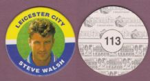 Leicester City Steve Walsh